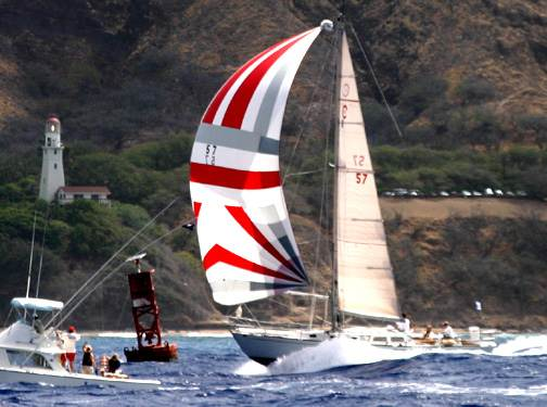 Illusion finishing the 2003 Transpac