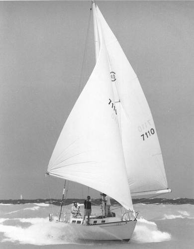 Melee finishing Montego Bay Race 1969