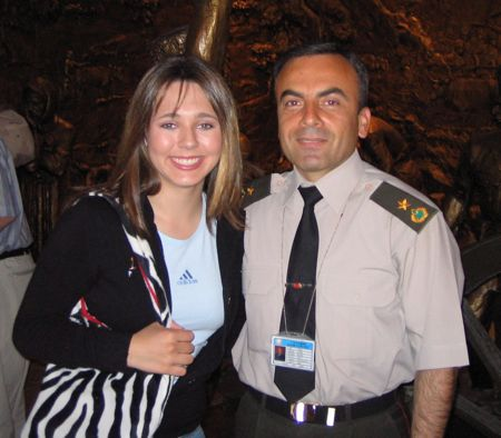 Annie and Army officer