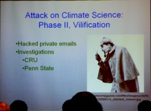 Slide from Gerald R. North's presentation