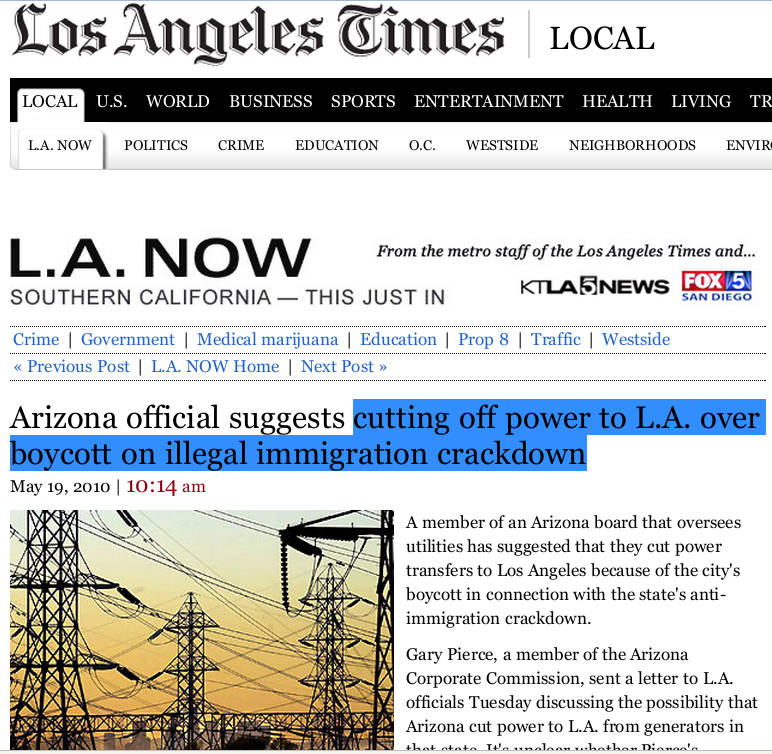 LA Times Gets It Wrong