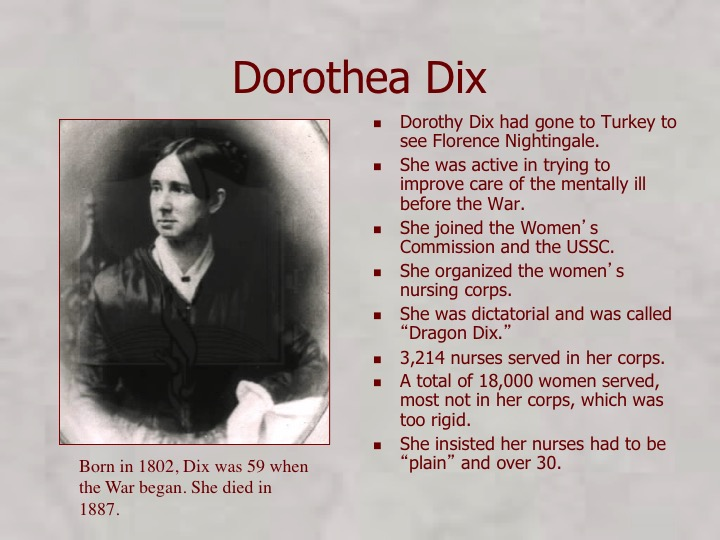 dorothea dix the humanitarian reformer for mental illness Antebellum america witnessed the growth of specialized facilities for people suffering from mental illness known as asylums reformers believed that the right environment others involved in institutional reform us library of congress dorothea dix the poor state of mental health.