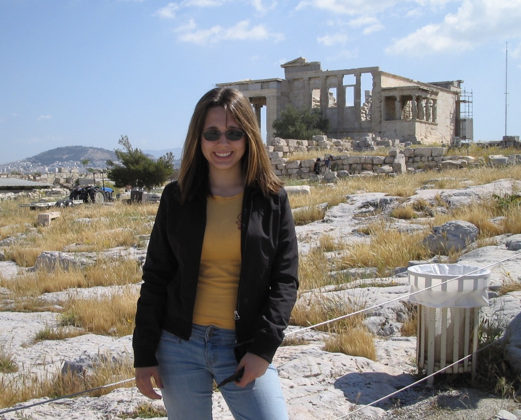Annie in Athens