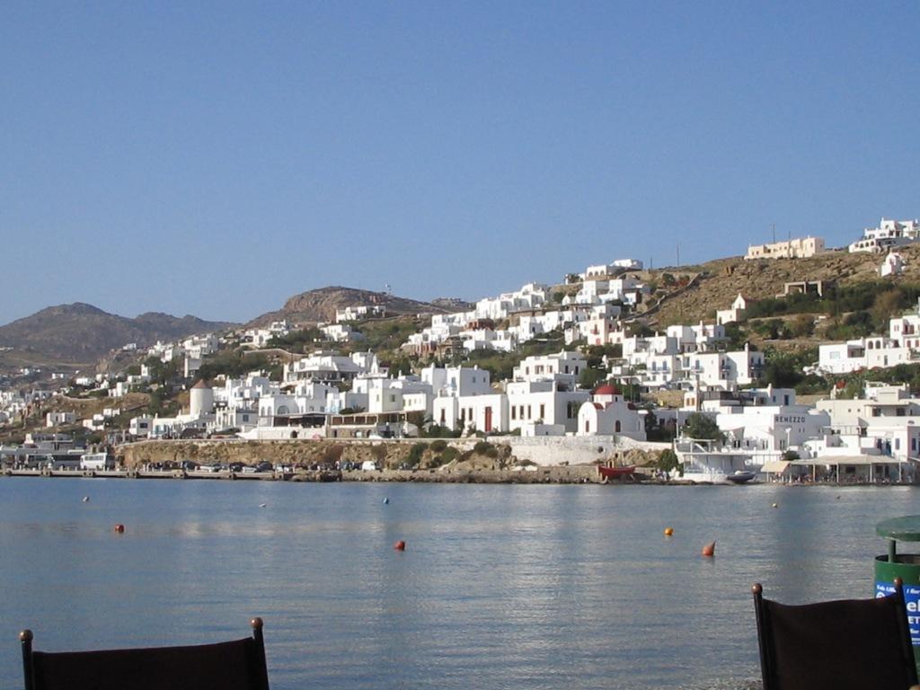 Mykonos harbor