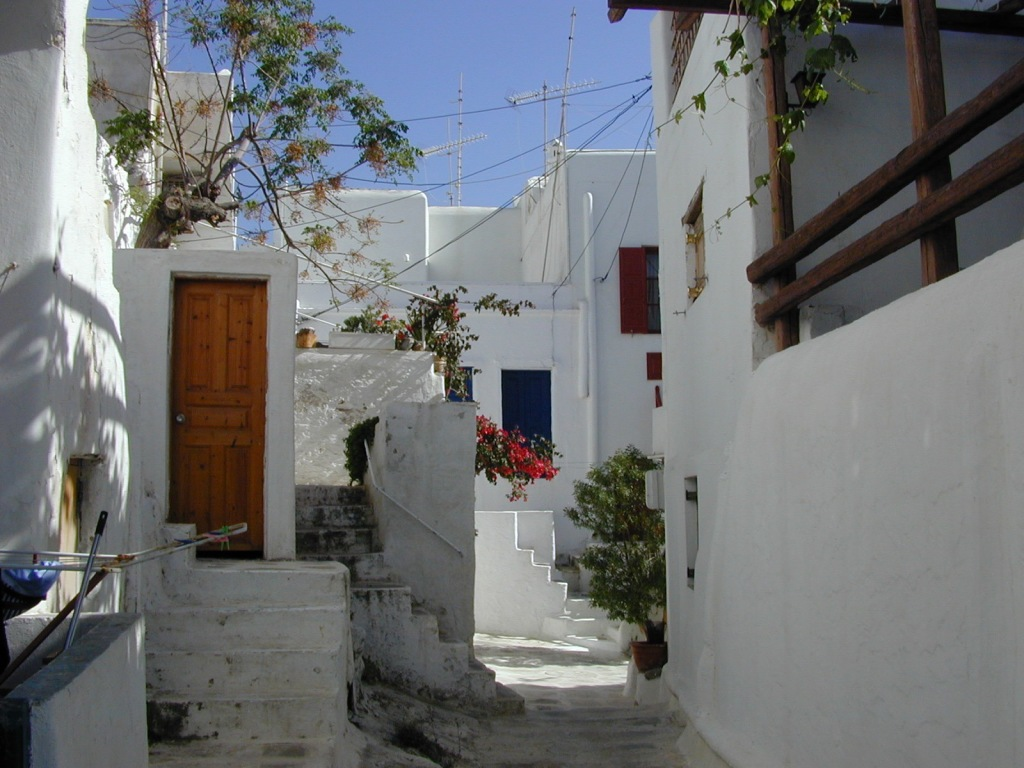 Mykonos square